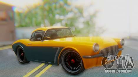 Invetero Coquette BlackFin Not Convertible para GTA San Andreas