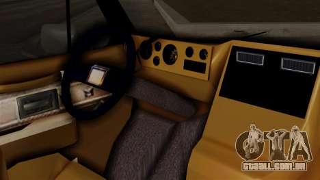 Chevrolet Chevy Van G20 Paraguay Police para GTA San Andreas vista direita
