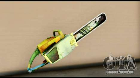 Brasileiro Chainsaw para GTA San Andreas segunda tela