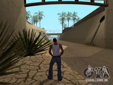 Ped.ifp Animação Gopnik para GTA San Andreas por diante tela