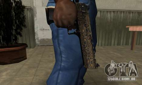 Brown Jungles Deagle para GTA San Andreas segunda tela