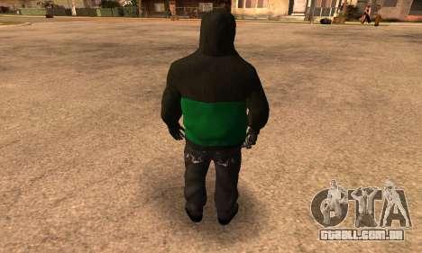 Fam Black para GTA San Andreas terceira tela