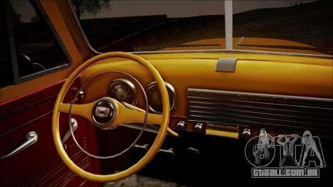Chevrolet 3100 Truck 1951 para GTA San Andreas vista traseira
