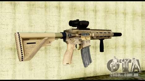 HK416 SOPMOD para GTA San Andreas segunda tela