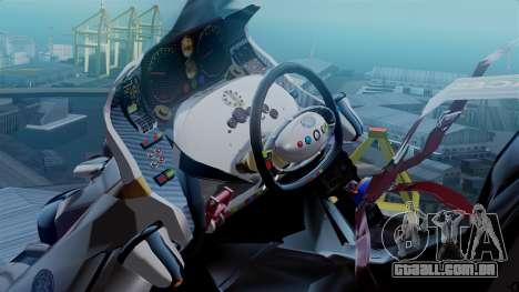 NRG Moto Jet Buzz Clean Model para GTA San Andreas traseira esquerda vista