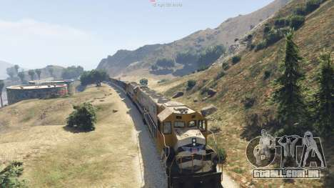 Improved freight train 3.8 para GTA 5