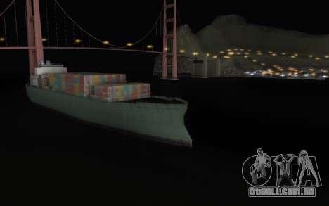 Noite eterna para GTA San Andreas segunda tela