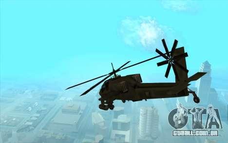 Caçador из Vice City para GTA San Andreas vista direita