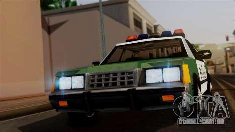 VCPD Cruiser para GTA San Andreas