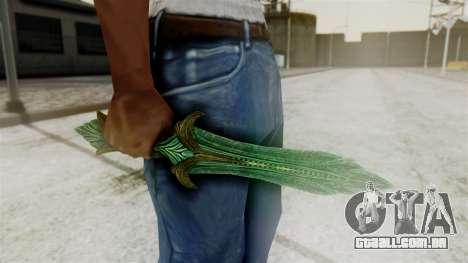 Glass Dagger para GTA San Andreas segunda tela