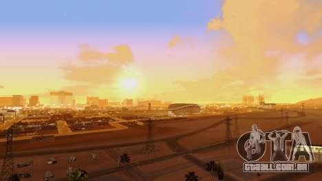 Skybox Real Stars and Clouds v2 para GTA San Andreas segunda tela