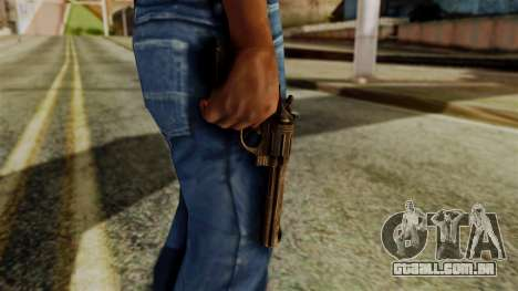 Colt Revolver from Silent Hill Downpour v1 para GTA San Andreas terceira tela