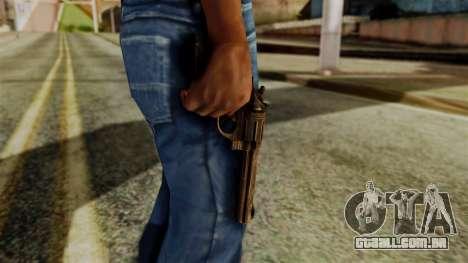 Colt Revolver from Silent Hill Downpour v1 para GTA San Andreas terceira tela