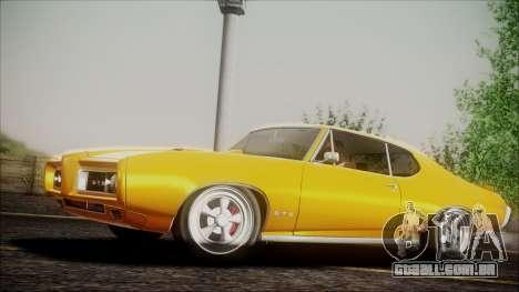 Pontiac GTO 1968 para GTA San Andreas