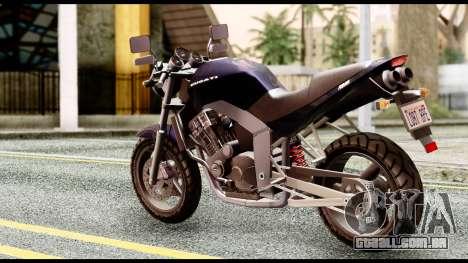 Ducati FCR-900 v4 para GTA San Andreas esquerda vista