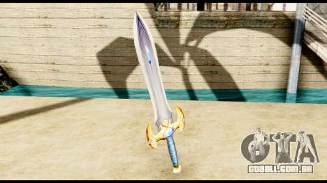Espada do paladin para GTA San Andreas