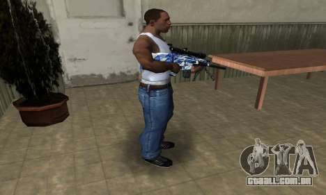 Mount Sniper Rifle para GTA San Andreas terceira tela