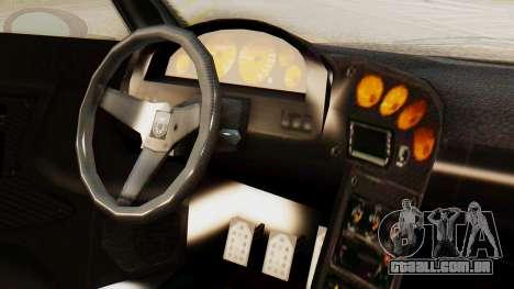 Pegassi Osyra Extra 2 para GTA San Andreas vista direita