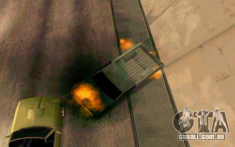 Burning car mod from GTA 4 para GTA San Andreas sexta tela