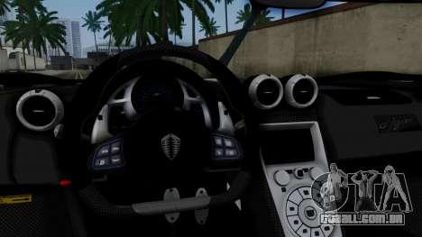 NFS Rivals Koenigsegg Agera R v3.0 para GTA San Andreas vista direita