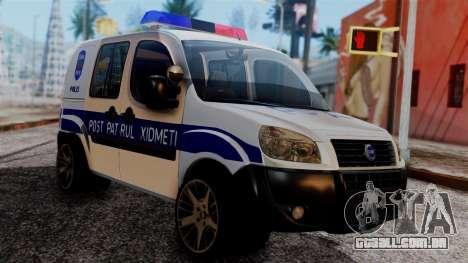 Fiat Doblo PPX para GTA San Andreas