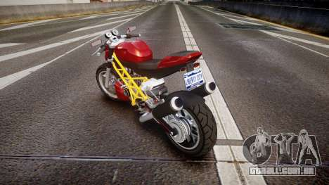 GTA V Principe Lectro para GTA 4 traseira esquerda vista