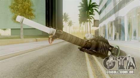 Ghostbuster Proton Gun para GTA San Andreas