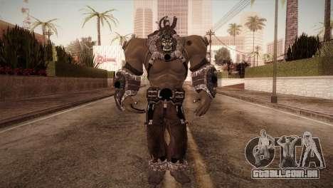 Bane Boss (Batman Arkham City) para GTA San Andreas segunda tela