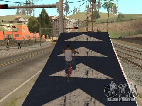 Trampolim para GTA San Andreas terceira tela