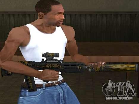 GTA 5 M4 para GTA San Andreas segunda tela