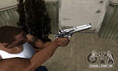 Full Silver Deagle para GTA San Andreas
