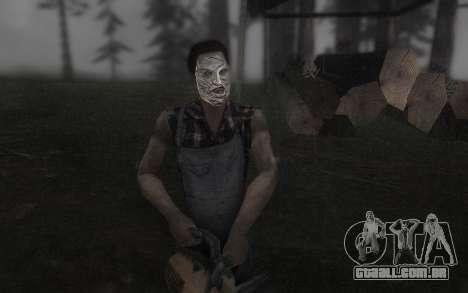 O Couro, máscara de rosto para GTA San Andreas segunda tela