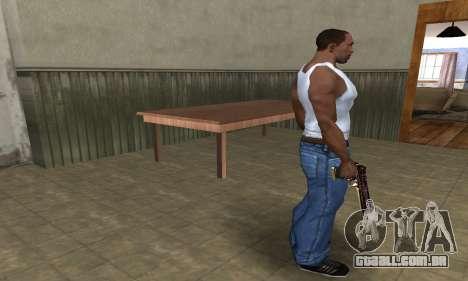 Klajk Deagle para GTA San Andreas terceira tela