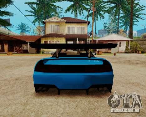 Infernus Lamborghini para GTA San Andreas vista interior