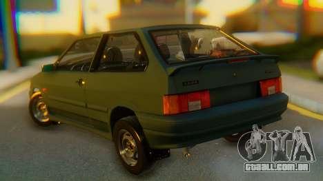 VAZ 2113 Stoke para GTA San Andreas esquerda vista