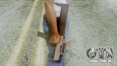 FMG-9 from Modern Warfare 3 para GTA San Andreas terceira tela