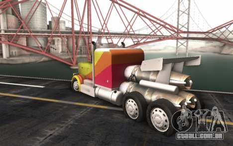 ShockWave Jet Truck para GTA San Andreas esquerda vista