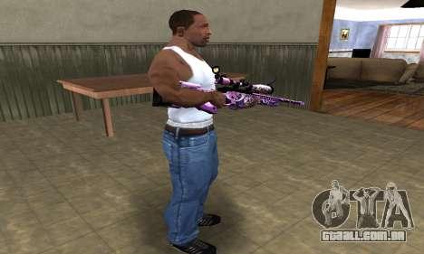 Neon Sniper Rifle para GTA San Andreas terceira tela