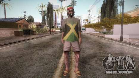 Rasta Grandpa para GTA San Andreas segunda tela