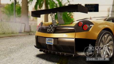 Pegassi Osyra Extra 2 para GTA San Andreas vista interior