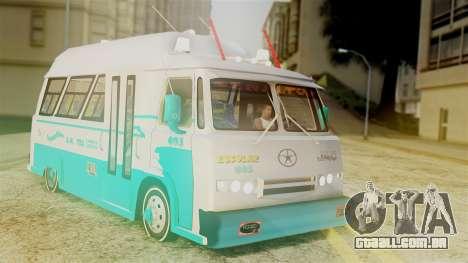 JAC Microbus para GTA San Andreas