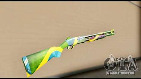 Brasileiro Shotgun para GTA San Andreas segunda tela