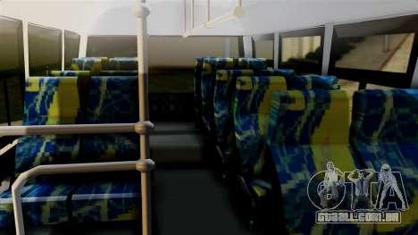 JAC Microbus para GTA San Andreas vista direita