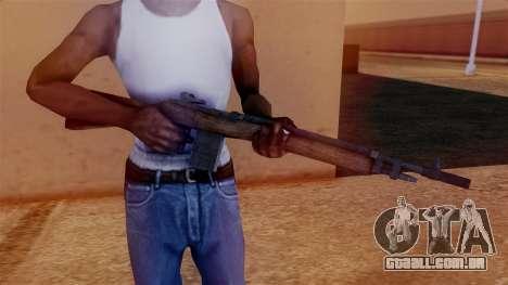 M14 Assault Rifle para GTA San Andreas terceira tela