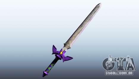 GTA 5 Master Sword terceiro screenshot