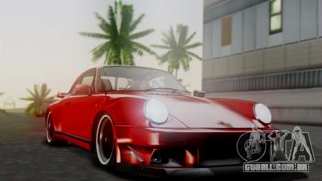 Porsche 911 Turbo (930) 1985 Kit A para GTA San Andreas vista inferior