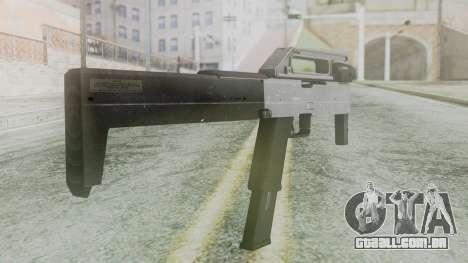 FMG-9 from Modern Warfare 3 para GTA San Andreas segunda tela