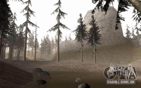 Uma cópia do original árvores para GTA San Andreas terceira tela