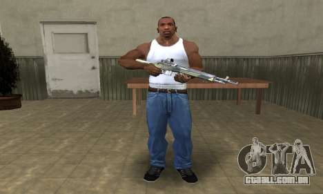 Military Rifle para GTA San Andreas terceira tela