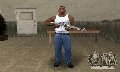 Military Rifle para GTA San Andreas terceira tela